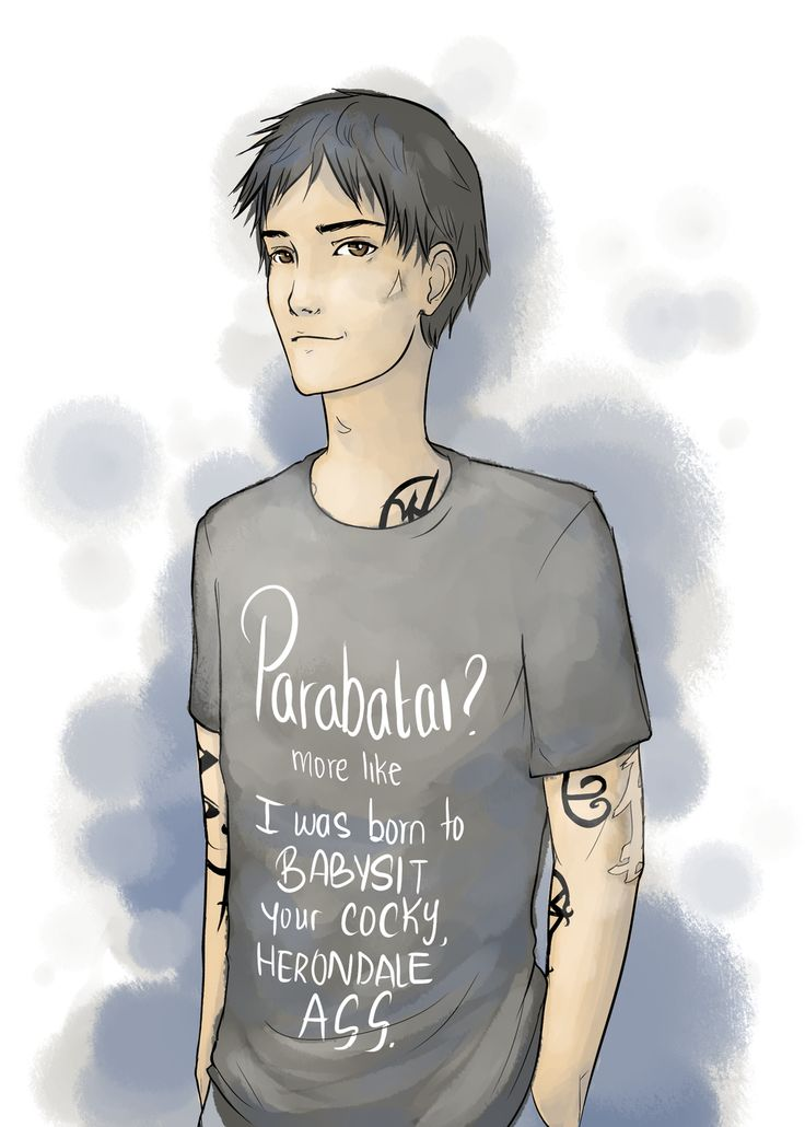 Oh James, James, Jem, Dearest Carstairs, I would like you ...