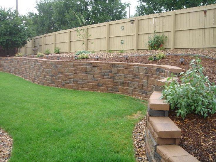 best 25 large retaining wall blocks ideas on pinterest