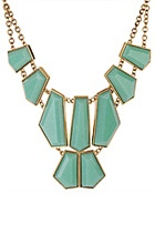 add color with bright accessoriesTurquoise Necklace