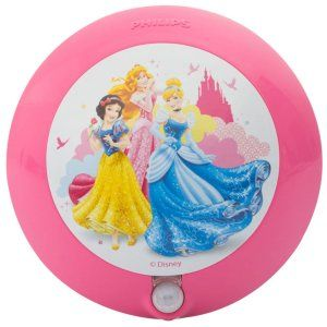 Amazon Steal- Buy Philips Disney Princess LED Sensor Night Light (Pink) for Rs 199