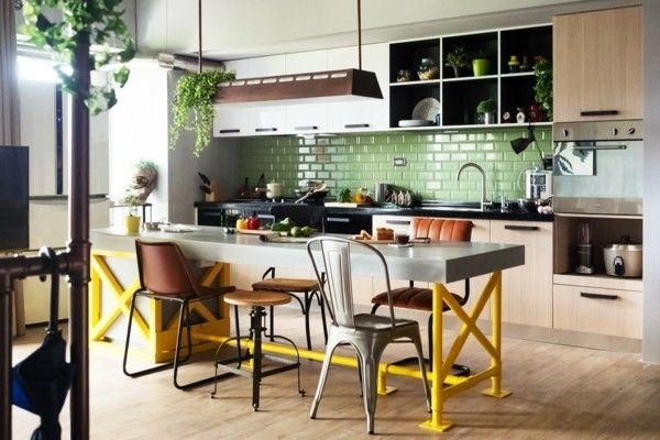 eklektische kücheneinrichtung ideen zu eklektische küchen
