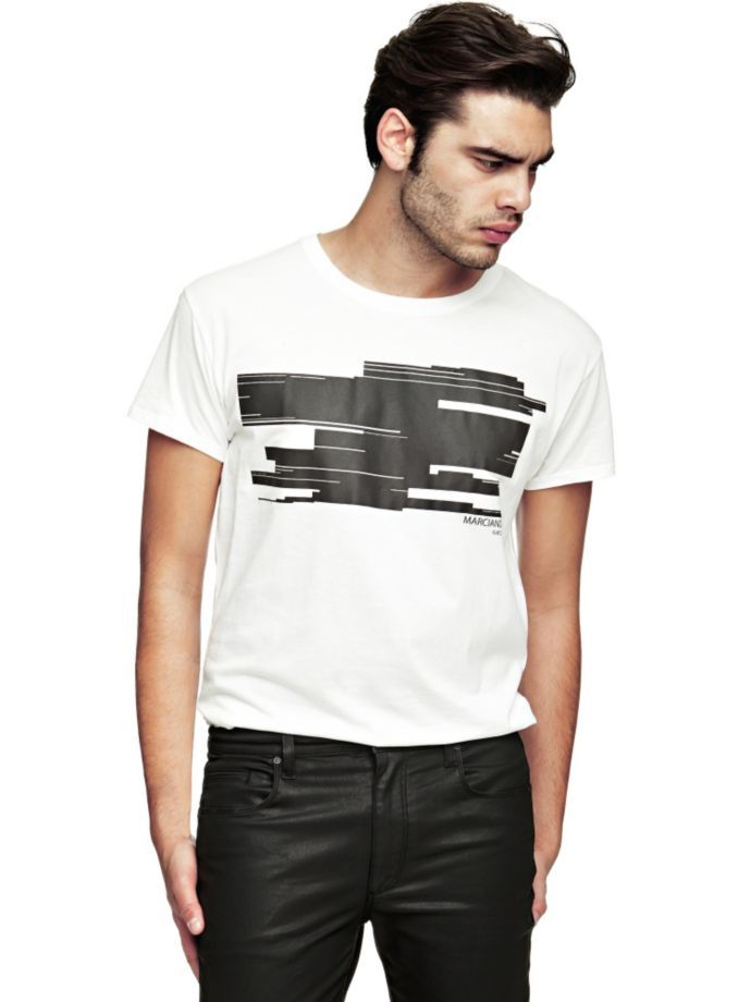 EUR49.00$  Watch now - http://virsb.justgood.pw/vig/item.php?t=kpvfog24406 - MARCIANO T-SHIRT WITH PRINT EUR49.00$