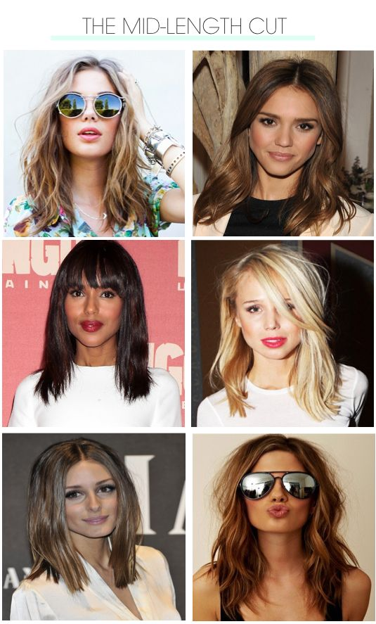 The hottest new hair of 2013? Here's a hint, it's mid-length and marvelous!