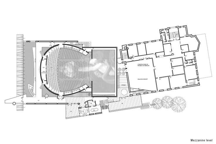 Dan Hanganu architectes - Rimouski Performance Hall