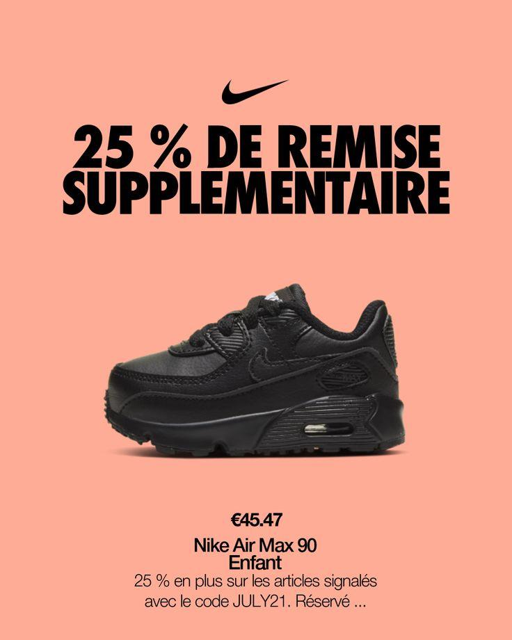 Chaussure Nike Air Max 90 pour Bébé et Petit enfant. Nike FR en ...