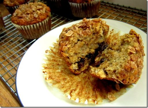 Oatmeal Raisin Banana Muffins | Bread + Muffins | Pinterest