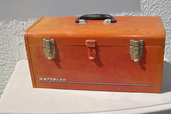Vintage Waterloo Tool Box by Reasontobuy on Etsy