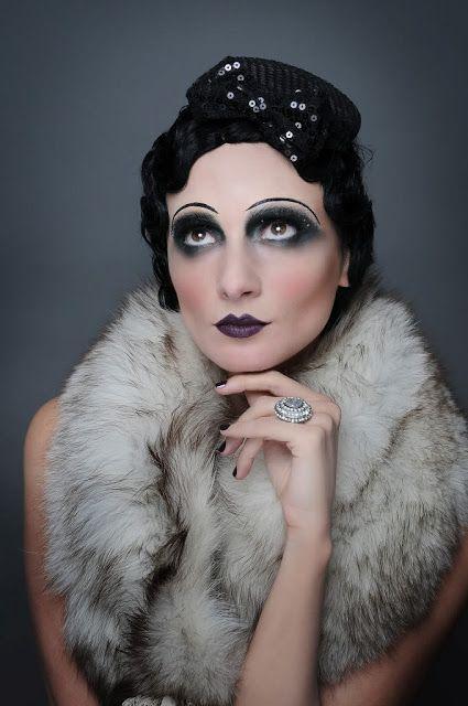 Marianne Nygaard: 20s makeup inspirasjon