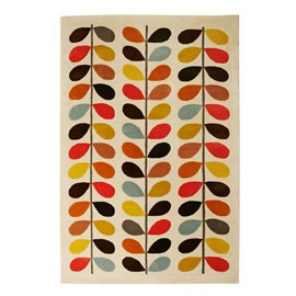 orla rug from heals - could be good in dining room if it wasnt so small :-( colours are great