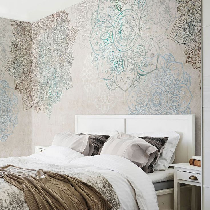 mandala-prints-wallpaper-interior-design-2-675x675 14 Hottest Interior Designers Trends in 2017