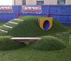 natural playscape ideas - Google Search
