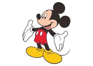 Mickey Mouse Logo Vector