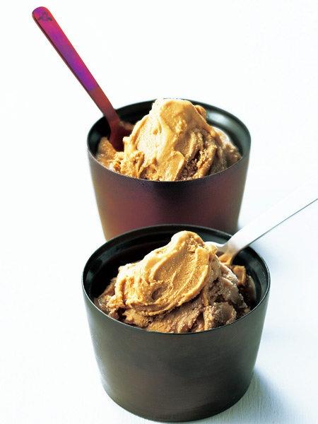 「ガゼボ GAZEBO」の「和三盆 焦がしキャラメルアイスクリーム」