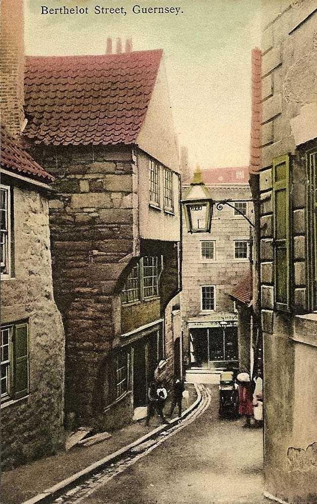 Channel Islands, Guernsey, Berthelot Street 1900's.jpg 629×1,000 pixels