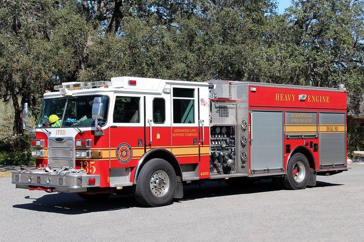 Jacksonville engine 135 fire trucks fire apparatus