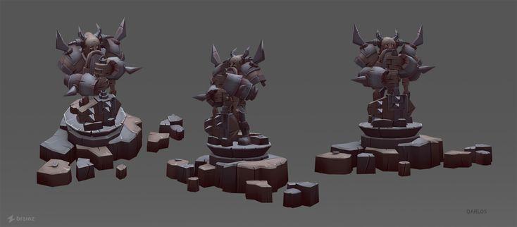3D Art for videogame on Behance