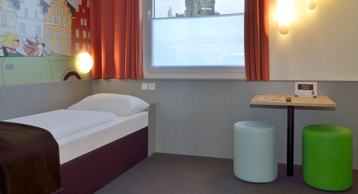 Barrierefreies Zimmer im B&B Hotel Osnabrück