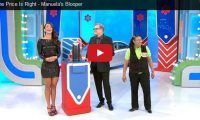 The Price Is Right – Manuela's Blooper Well that was the easiest win ever for 'a brand new car' on the Price Is Right. Model Manuela Arbelaez made a boo-boo when she inadvertently gave away a car to a contestant ...