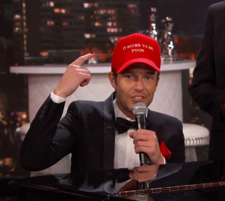 Brandon Flowers on Jimmy Kimmel 2016