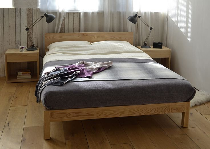 The Sahara bed and Cube bedside tables   in solid ash  http. 17 Best images about Ash wood   beds and bits on Pinterest   Tibet