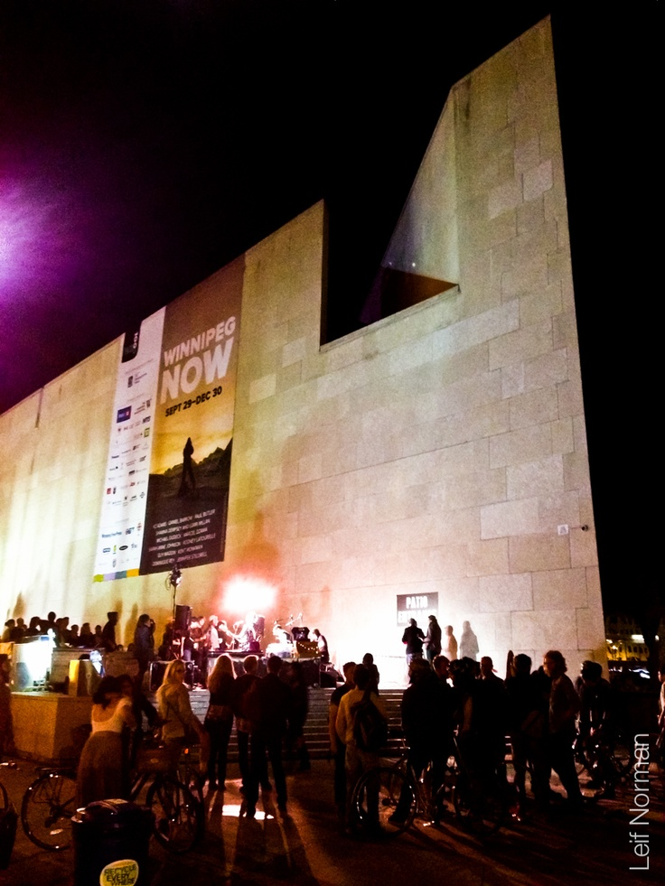 Nuit Blanche 2012 at the Winnipeg Art Gallery