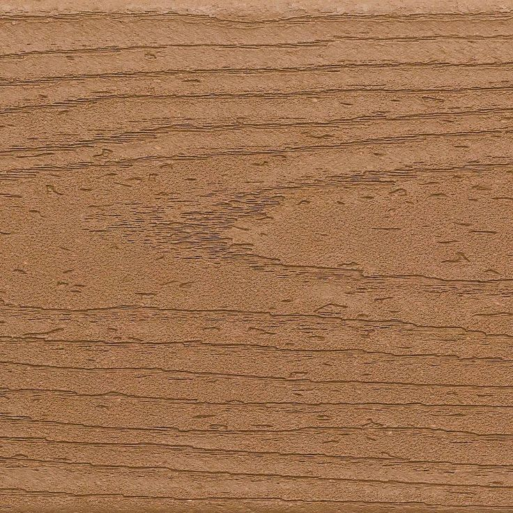 Composite Decking Trex Beach Dune Grooved (Common: 1 in. x 5-1/2 in. x 12 ft.; Actual:  1 in. x 5.5 in. x 144 in.)