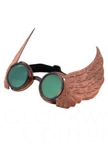 Goggles of Icarus: Burning Man, Steampunk Glasses, Steampunk Fashion, Steampunk Costumes, Steampunk Style, Steampunk Ideas, Goggles Steampunk, Steampunk Wings, Steampunk Goggles