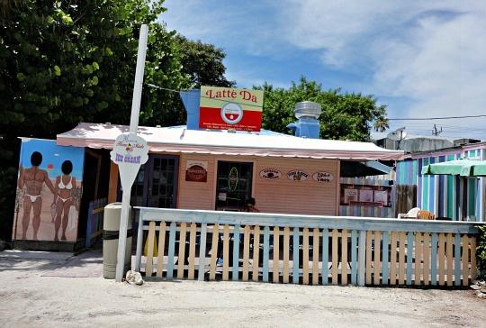 Captiva restaurants - Latte Da ice cream and coffee shop ... yum!