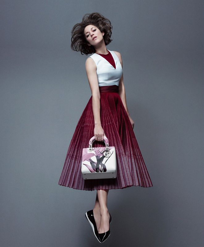 Marion Cotillard In The New Lady Dior Campaign – soars above the ground