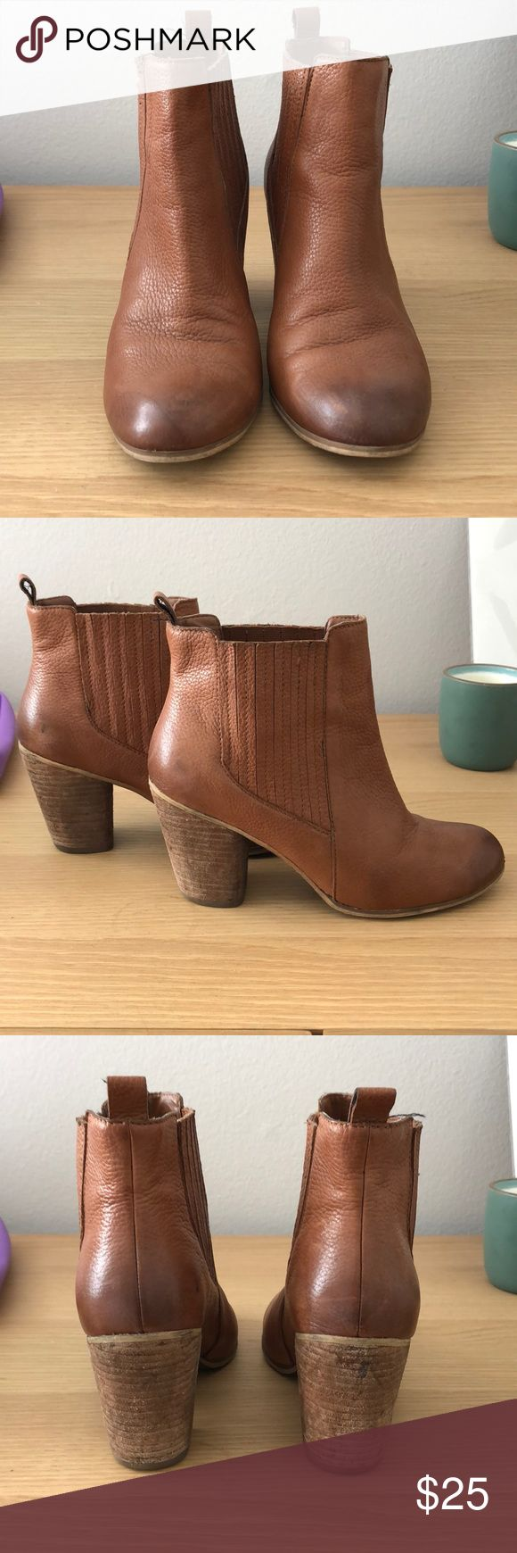 BP heeled Chelsea bootie The best BP Chelsea boot.  Preused with some wear and tear. But in good condition and so comfy! Size 6.5. Nordstrom Shoes Ankle Boots & Booties