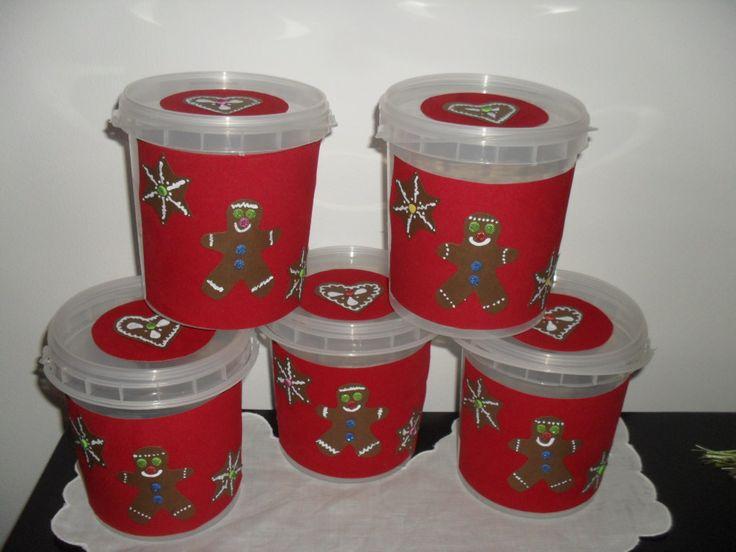 Potes para biscoitos ou broas