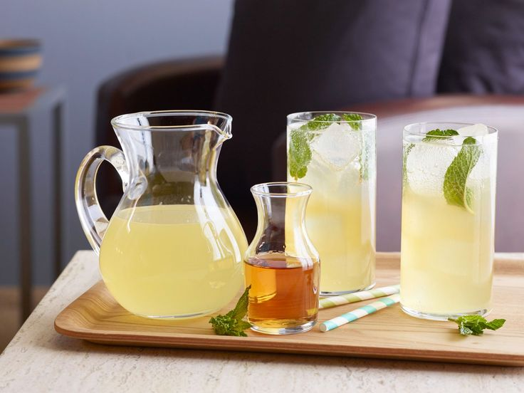Spiked Lemonade : Anne Burrell's classic adult cocktail pairs lemon juice with…
