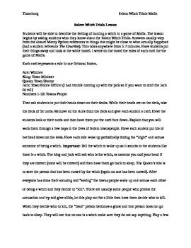 8th grade salem witch trials essay