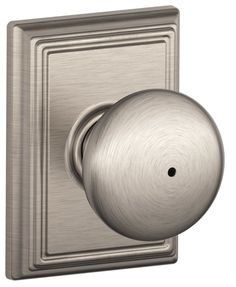 Plymouth Privacy Knob with Addison Trim