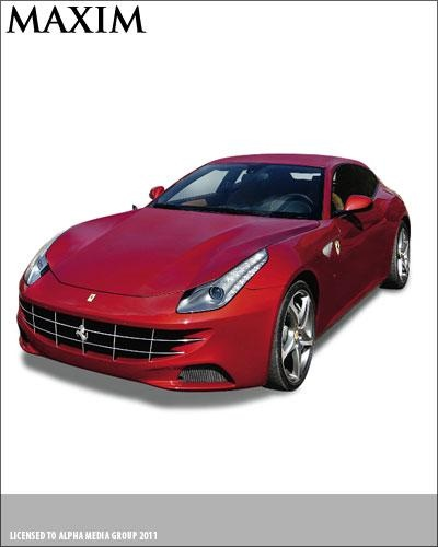 Most Impractical Hatchback: 2012 Ferrari FF