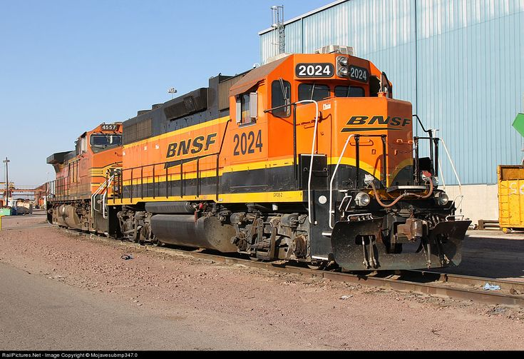RailPictures.Net Photo: BNSF 2024 BNSF Railway EMD GP38-2 at Barstow, California by Mojavesubmp347.0