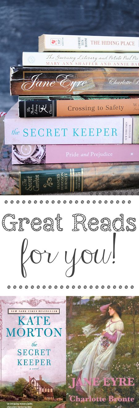 My Favorite Books to Read - Crazy Little Projects