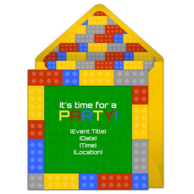Free Blocks Invitations