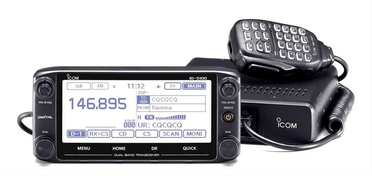 ICOM ID-5100A VHF/UHF Digital Transceivers ID-5100A