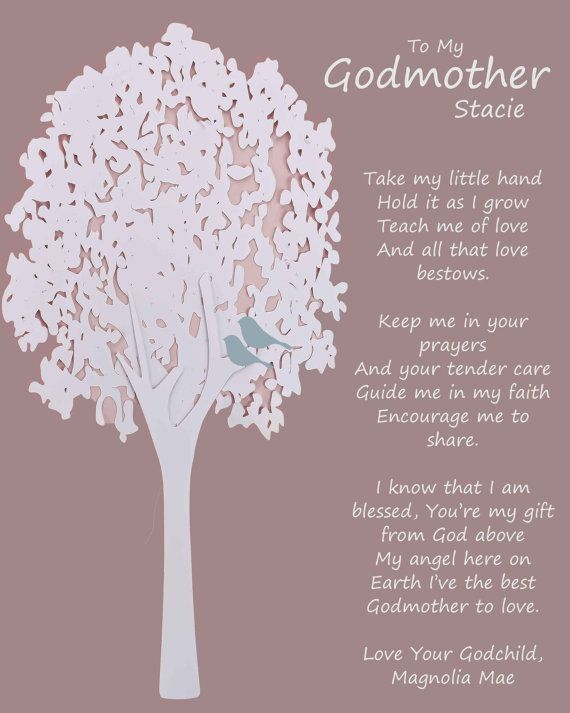 Godmother Wedding Gift: 24 Best Images About GODMOTHER Gift Personalized Gift For