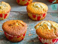 Passievrucht maanzaad muffins - Uit de pan van San