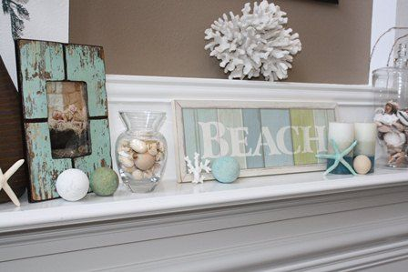 10 sizzling summer mantel ideas & tips on how to decorate a mantel | BabyCenter Blog
