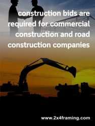 Construction bids - For Sale Ads