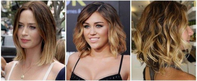 Kısa Saç ile Ombre Saç Rengi Modası