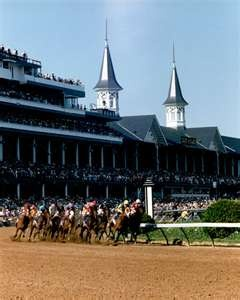 KENTUCKY DERBY - the first Saturday in May every year. Just an hour and fifteen minutes from Lebanon, KY! If you're coming to the Derby, come early and visit Lebanon!