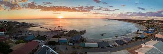 Lugfoto van Strandfontein