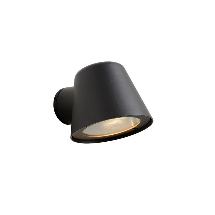 Lucide Dingo Wandlamp LED - Zwart