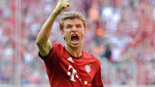 Thomas Müller hat in München noch einen Vertrag bis 2019. (Quelle: imago/Sven Simon)