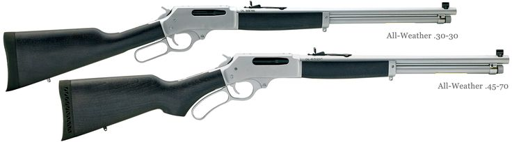 30-30 & 45-70 All-Weather Lever Action Rifles | Henry Repeating Arms./ Big loop and   a longer barrel  would be nice