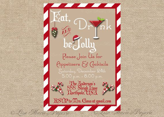 67 best images about parties – Diy Christmas Party Invitations